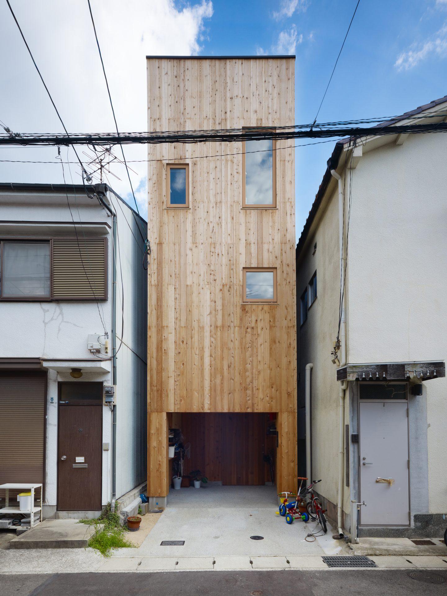 兵庫神戸の小さな家の外観01