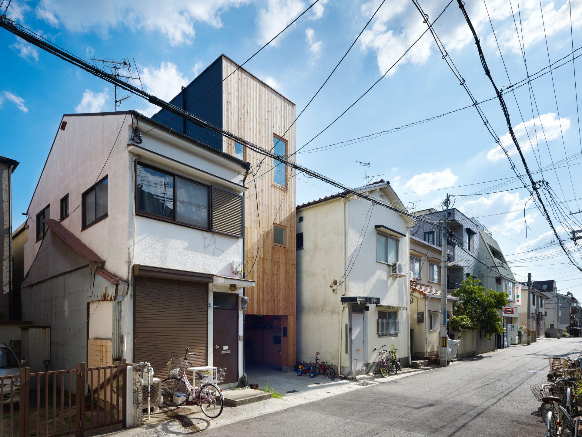 兵庫神戸の小さな家の外観02