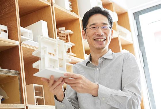 大阪の建築家である藤原慎太郎