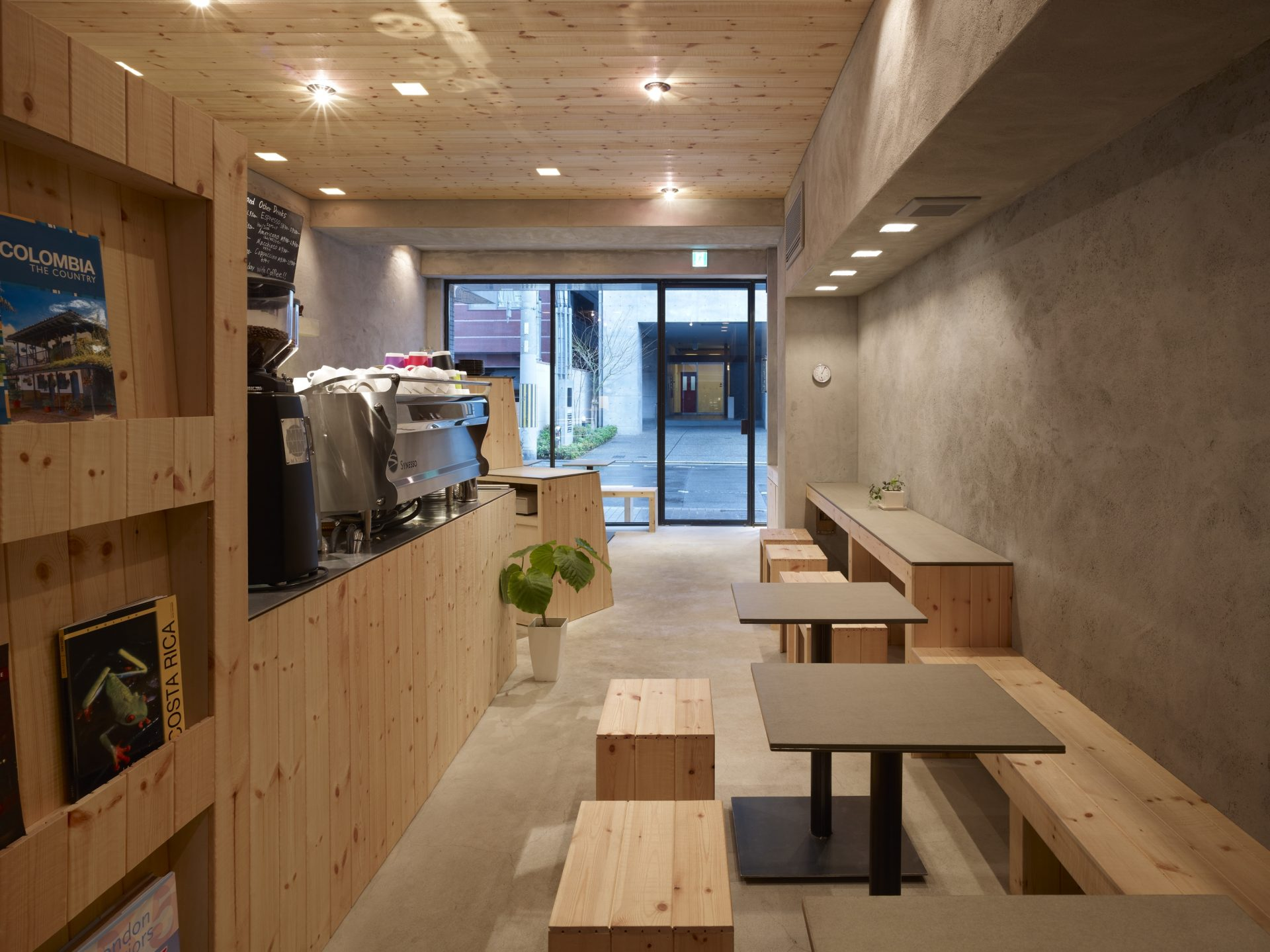 京都Sentidoの店舗内装06
