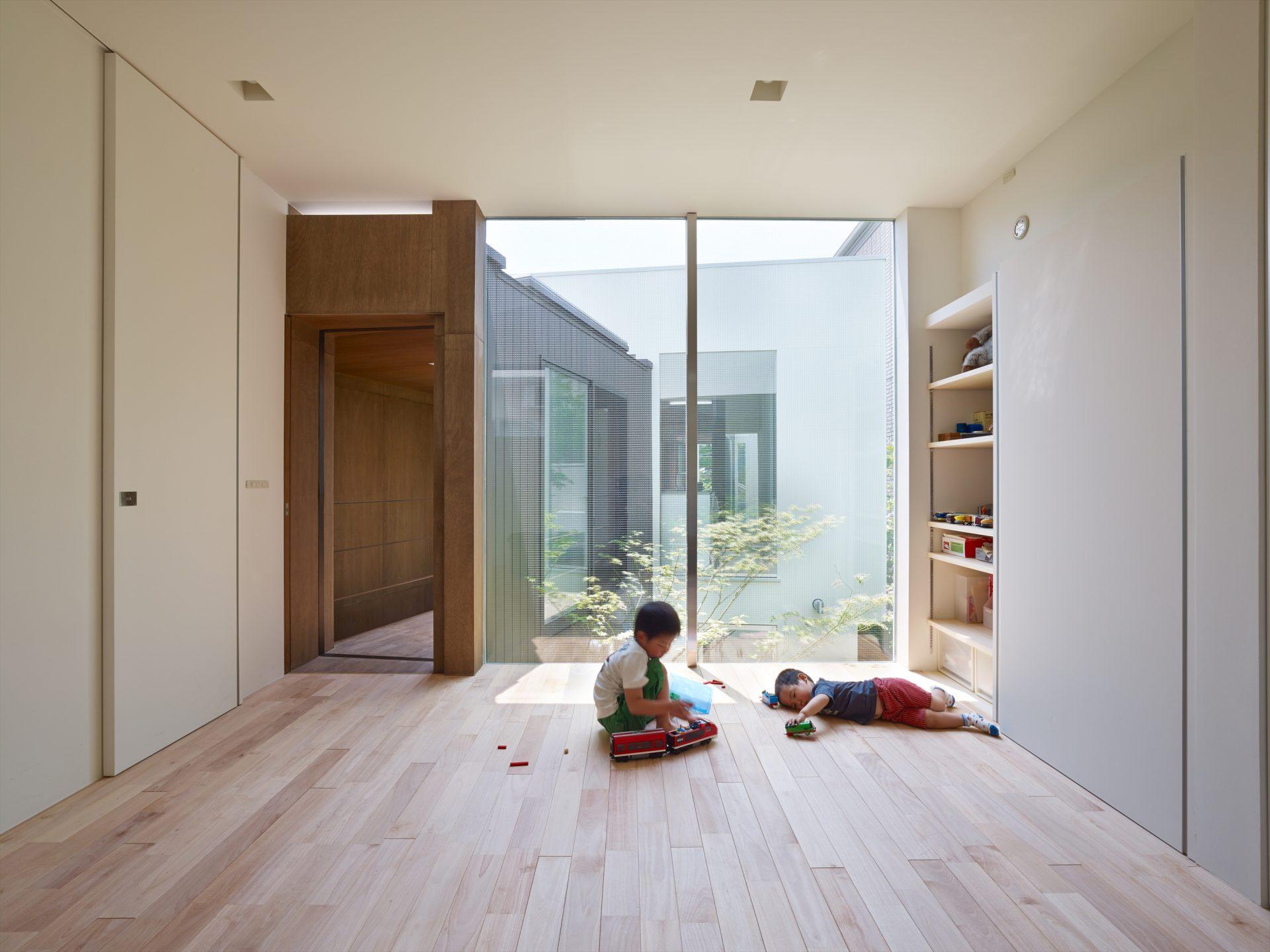 大阪住吉の家の子供室