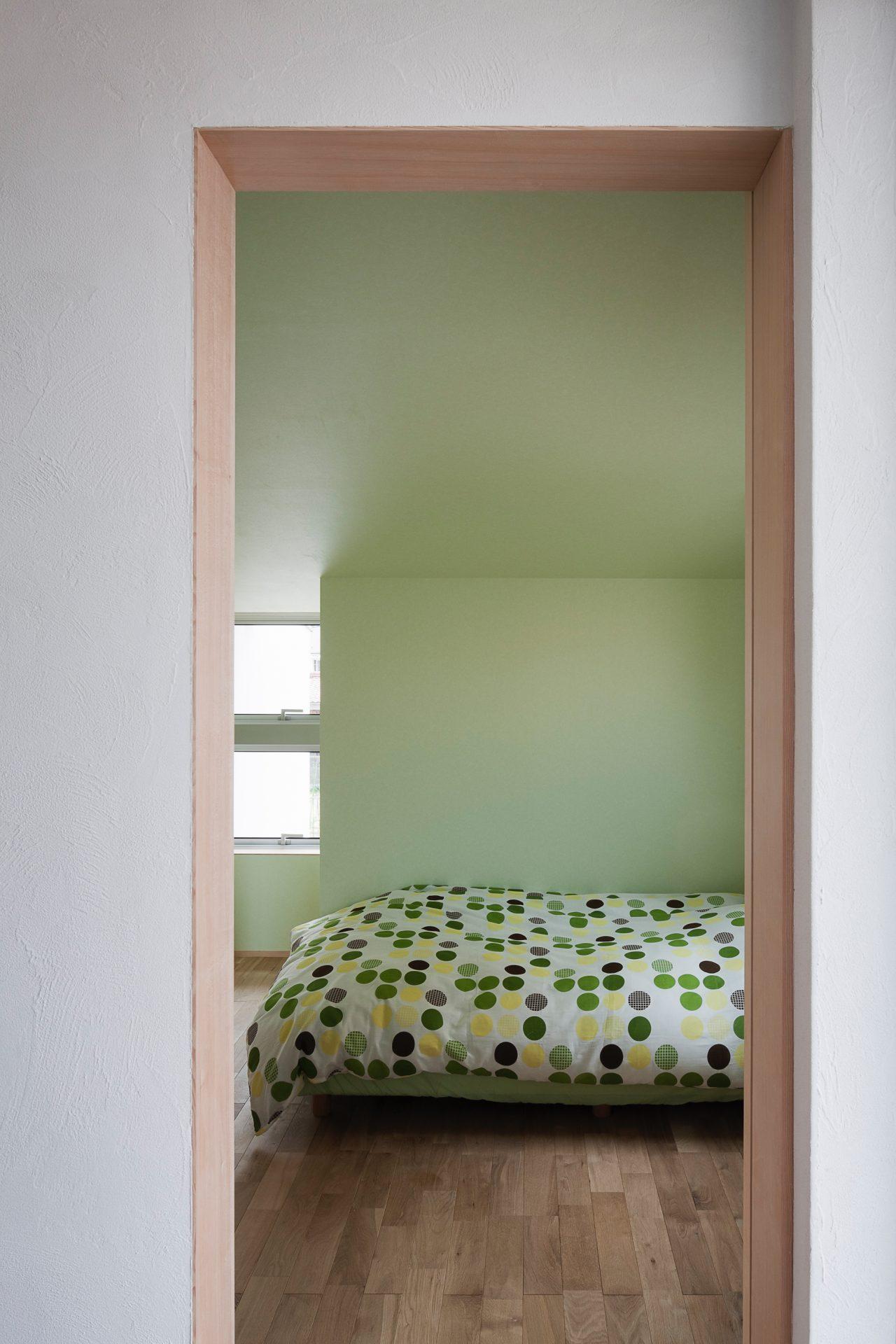 福井敦賀の家の寝室