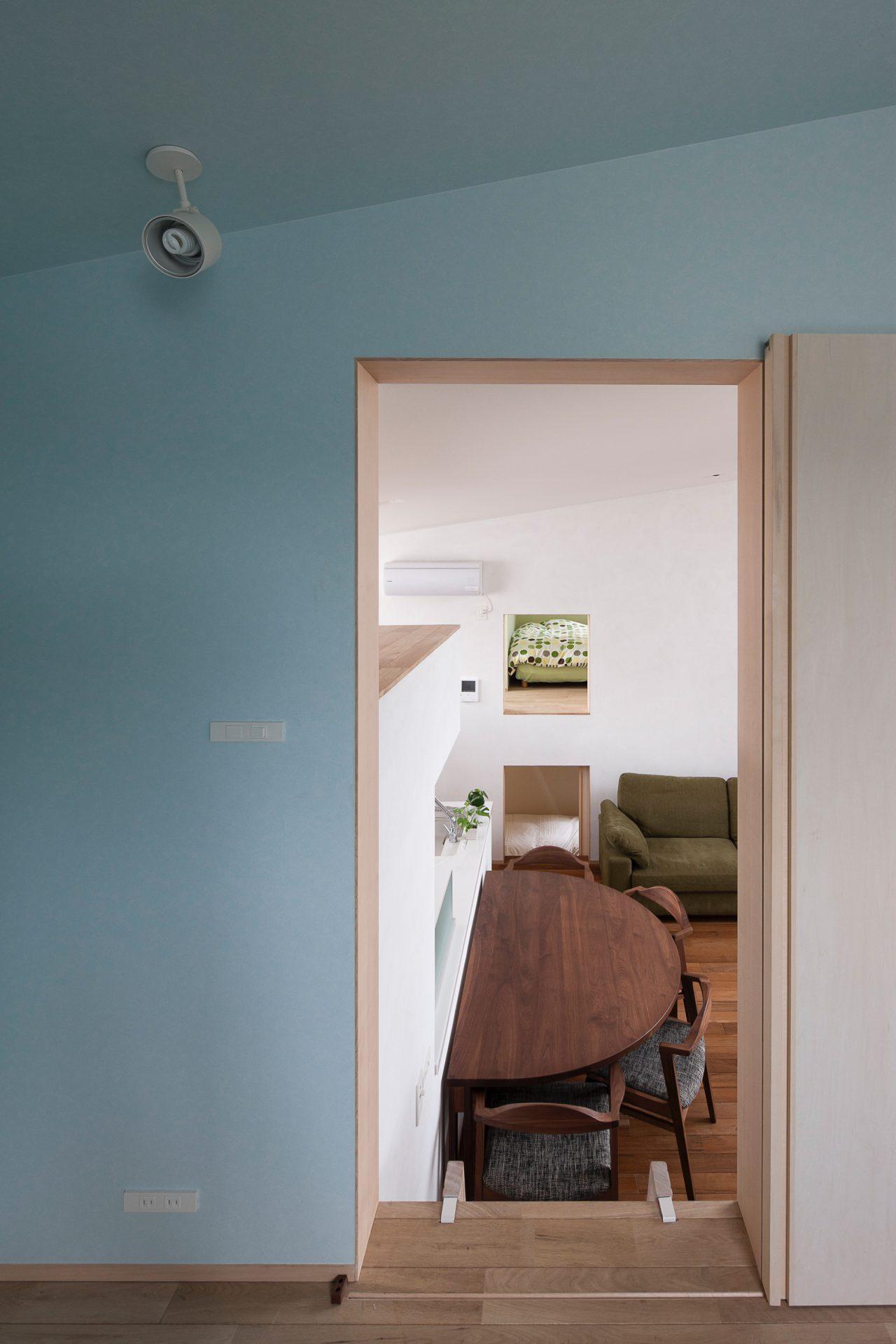 福井敦賀の家の個室